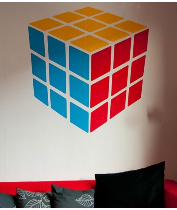 Стикер Кубчето на Рубик