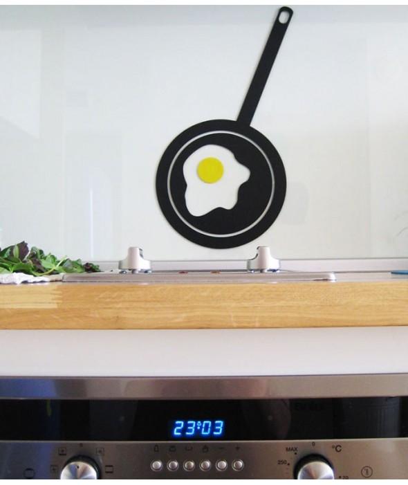 Практичен стикер за кухня от Артелие - Яйце на Око