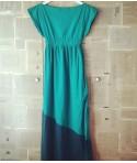 Дълга ежедневна свежа рокля с възможност за изор на цвят от Артелие