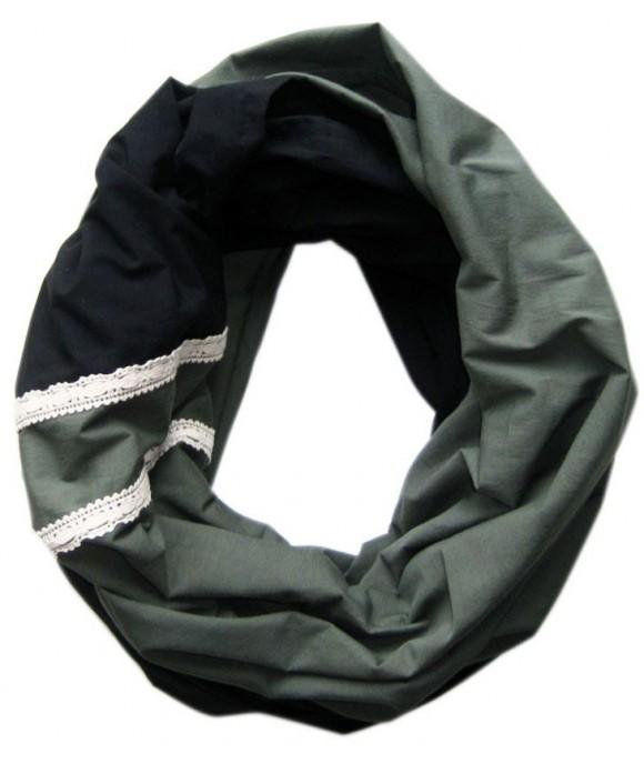 Двулицев шал в цветова комбинация по Ваш избор, ръчно изработен от Артелие