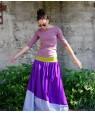 Дълга лятна цветна пола от Артелие