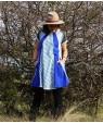 Къса, широка, геомтерична рокля от Артелие Ice Age