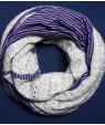 Топъл зимен Шал Мус от нежно ажурно плетиво