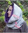 Шал Пришълец 2 за стилен профил през зимата