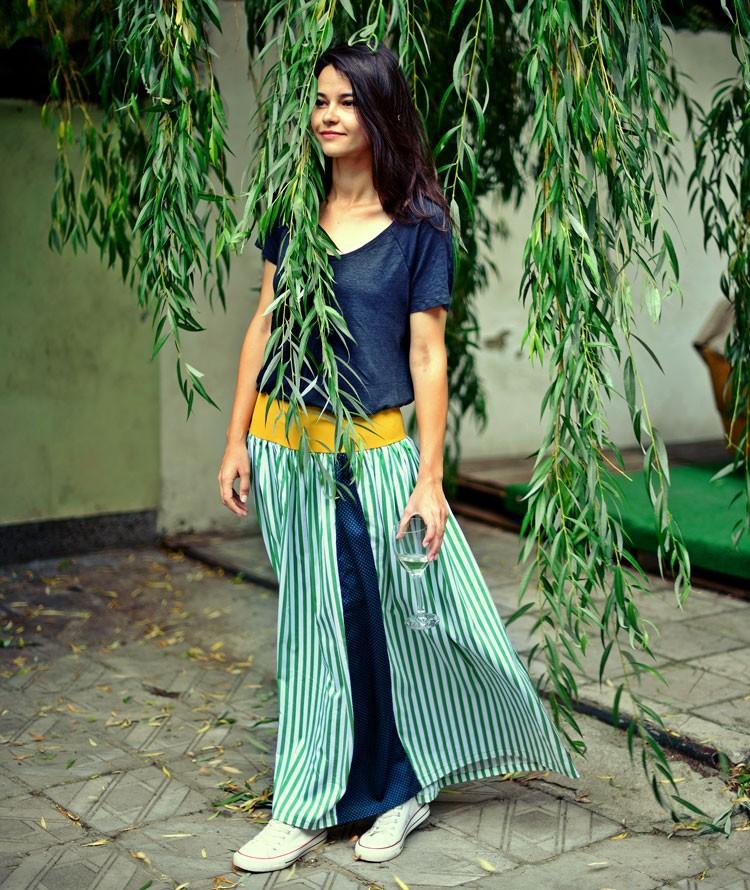 maxi summer skirt chillax
