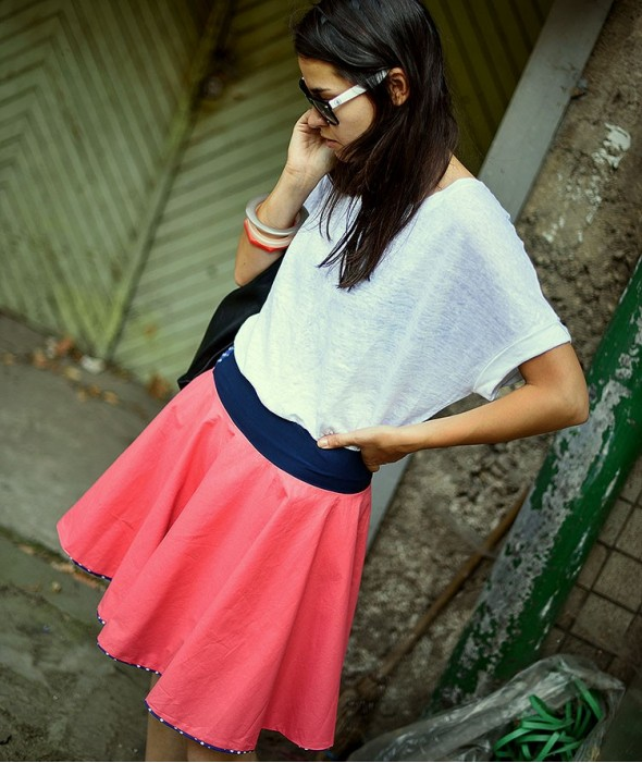 Short Doubled Sided Skirt Rendez-Vous