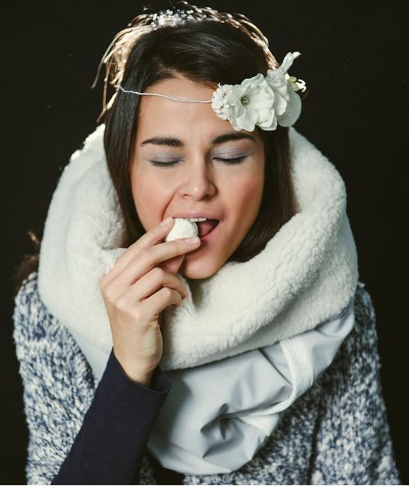 Fluffy Winter Scarf Prespa