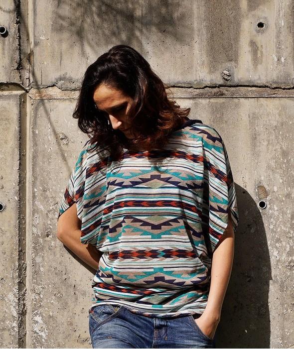 Дамска Бохо Тениска Sierra