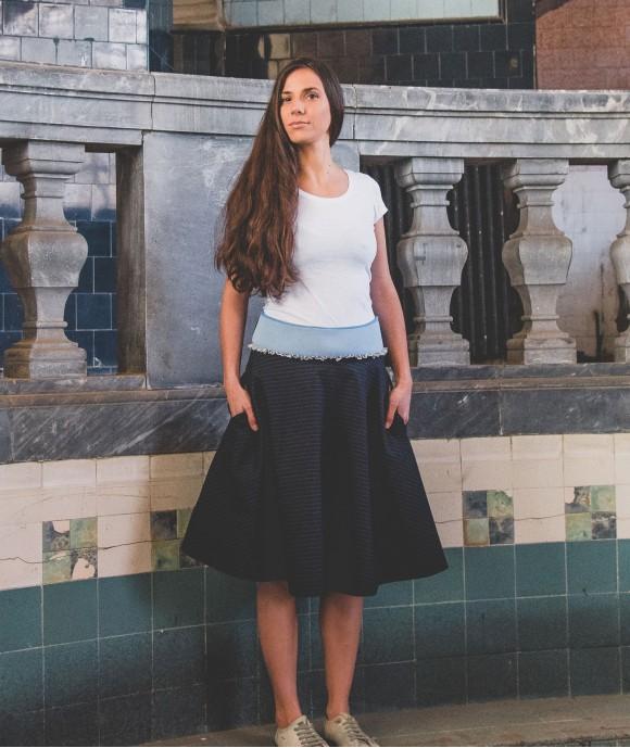 Short High Waist Skirt Heal Citrine