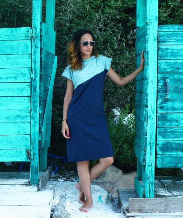 Short Tunic Dress Aerial