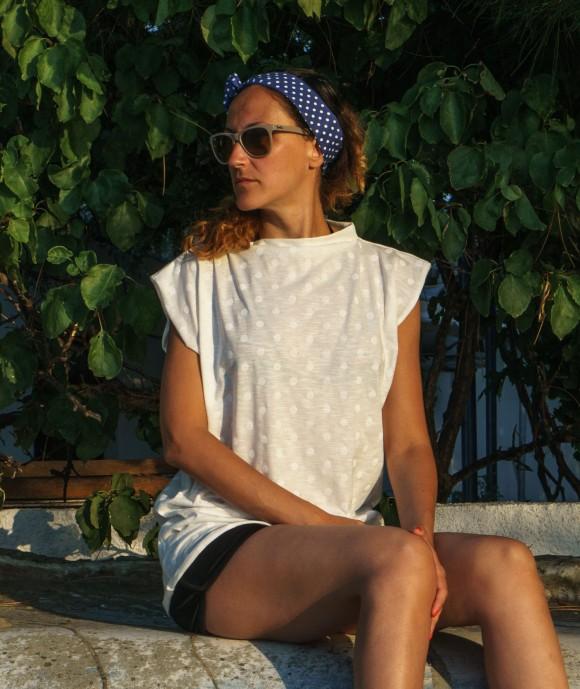 Дамска Тениска White Mood