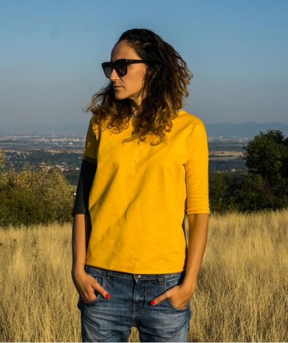 Жълта Дамска Блуза Sunbeam