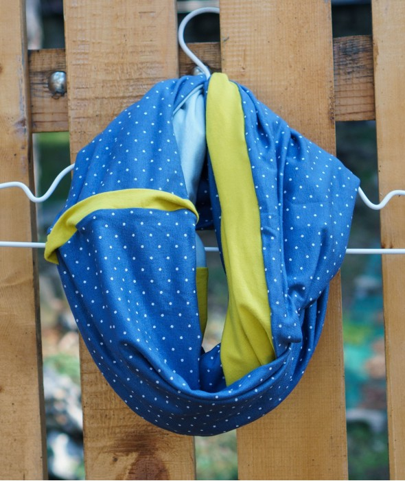 Reversible Spring Scarf Serenity