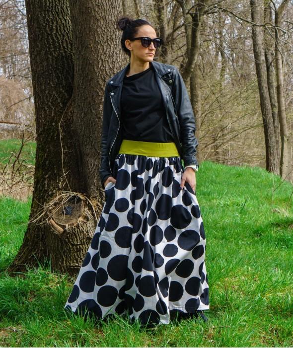Long Loose Spring Skirt Alice