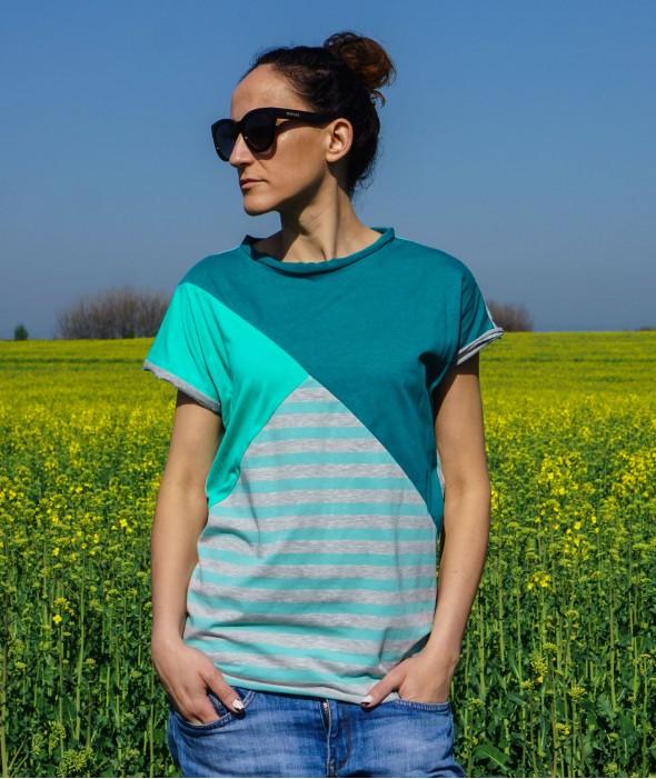 Women T-shirt Mint Mood