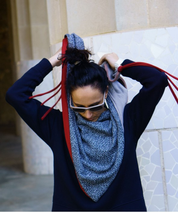 Reversible Triangle Scarf...