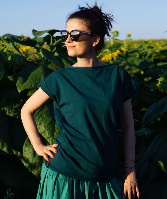 Двустилна Дамска Тениска Tarragon