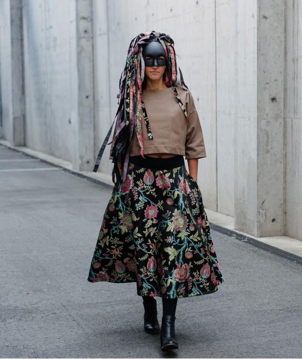 Midi Skirt Harlequin
