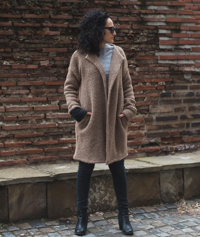 Warm Women Wool Vest Arania