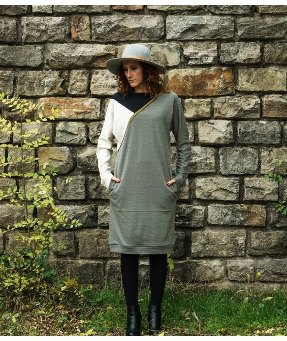 Stylish Casual Midi Dress...