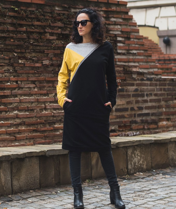 Stylish Casual Midi Dress Sellessy