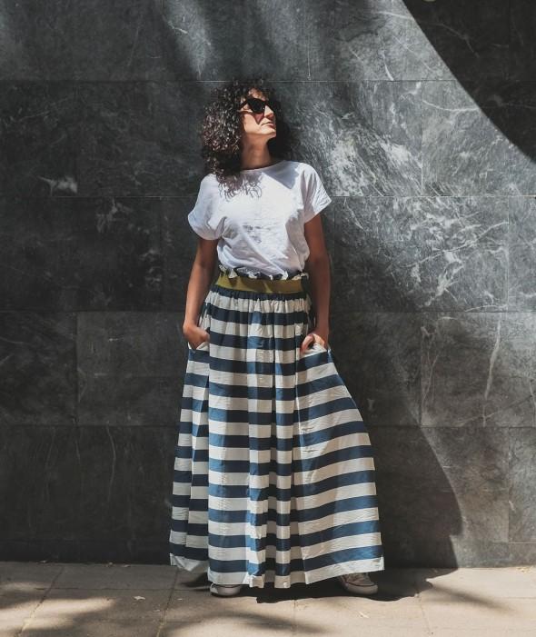 Long Loose Skirt Tiffany