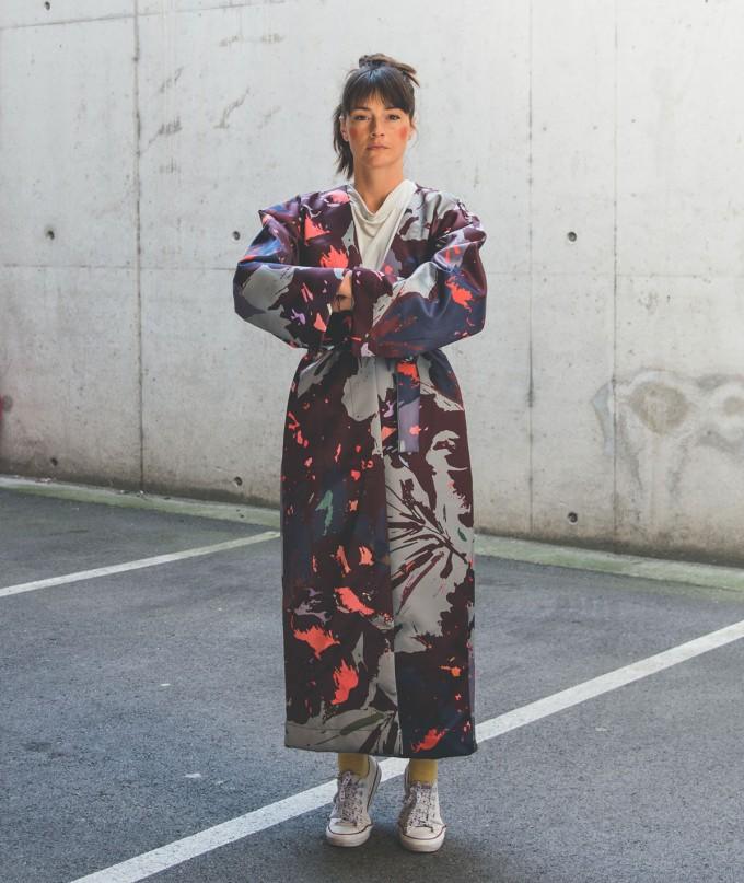 Дълго Дамско Кимоно Наошима