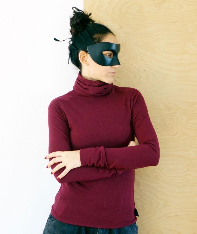Дамска Поло Блуза Sansa Burgundy