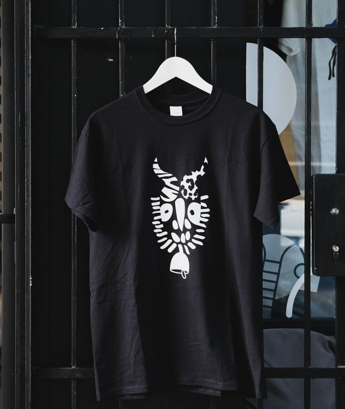 Черна Унисекс Тениска Чан